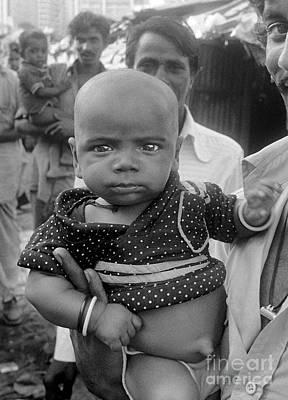 Photograph - Buddha Baby, Mumbai India  by Wernher Krutein