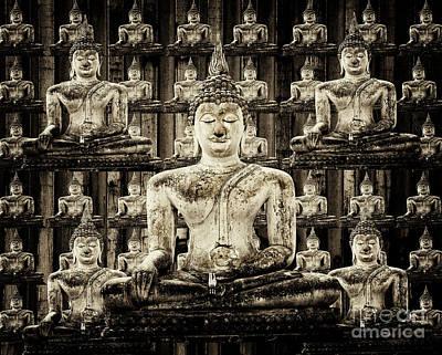 Photograph - Buddha by Bob Christopher