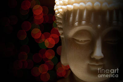 Print featuring the photograph Buddha by Brian Jones