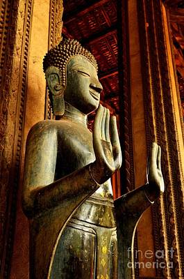 Photograph - Buddha - Double Abhaya Mudra  by Dean Harte