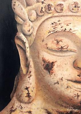 Sleeping Buddha Painting - Buddha by Emily Page