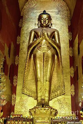 Photograph - Buddha Figure 1 by Werner Padarin