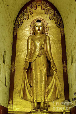 Photograph - Buddha Figure 2 by Werner Padarin
