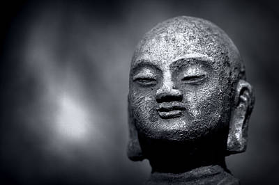 Photograph - Buddha Garden Sculpture by Joseph Skompski