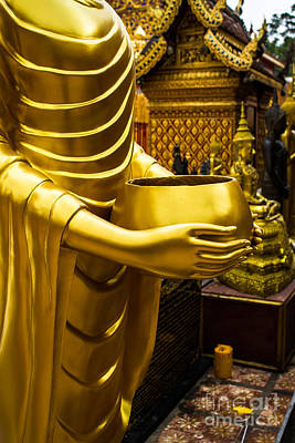 Sculpture - Buddha Image by Honey Bee