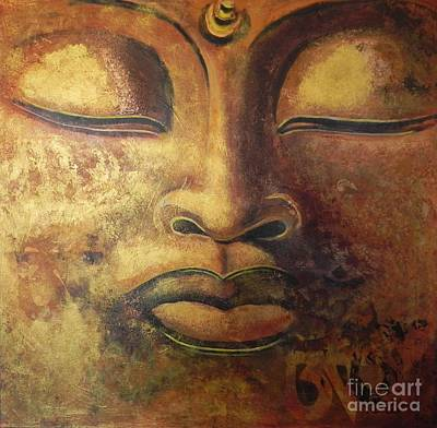 Buddha In Gold Original