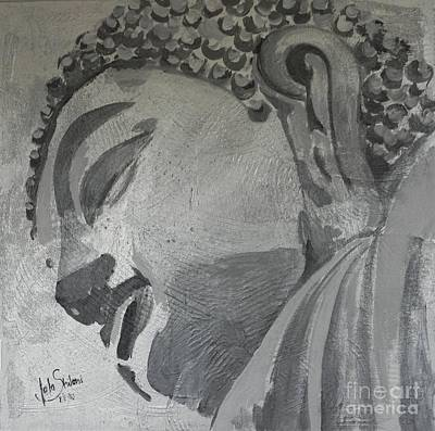 Buddha In Silver Original