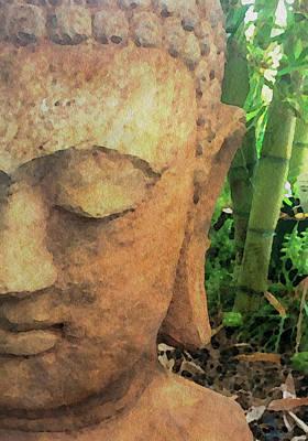 Photograph - Buddha In The Bamboo by Jacklyn Duryea Fraizer
