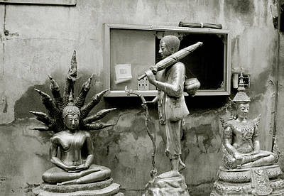 Photograph - Buddha In The Streets Of Bangkok by Shaun Higson