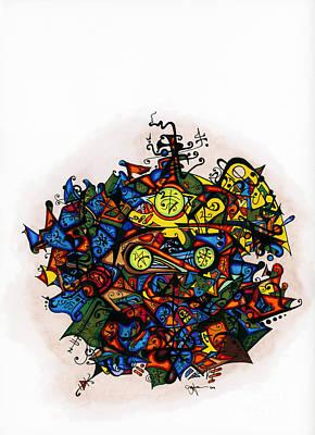 Karma Mixed Media - Buddha  by Joey Gonzalez