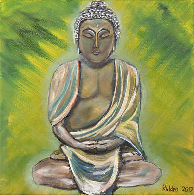 Buddha Print by Kimberley Riddett