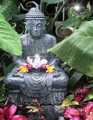 Digital Art - Buddha by Laurel D Rund
