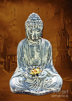 Photograph - Buddha Lotus Position  by Gabriele Pomykaj