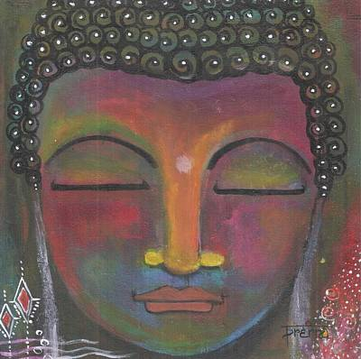 Painting - Buddha Meditating by Prerna Poojara