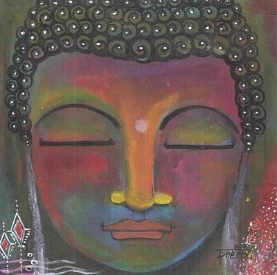 Painting - Buddha Meditating by Prerna Poojara