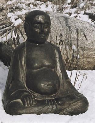 Sculpture - Buddha by Michael Rutland