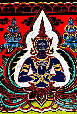 Photograph - Buddha Of Colour - Wall Art by Ian Gledhill