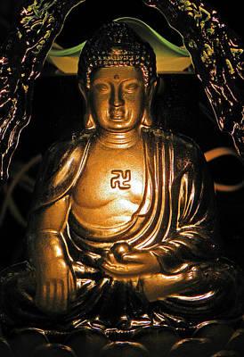 Photograph - Buddha Of The Light by Elizabeth Hoskinson