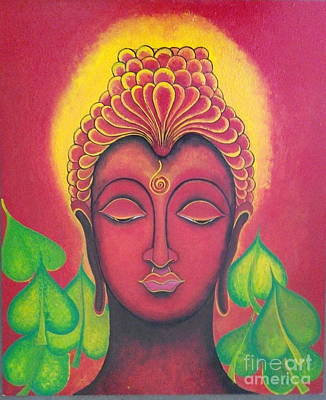 Painting - Buddha Paintings by Rekha Artz