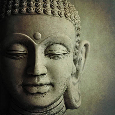 Religious Photograph - Buddha by Photo - Lyn Randle
