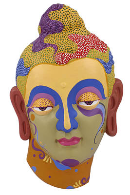 Painting - Buddha - Relief-2 by Arttantra