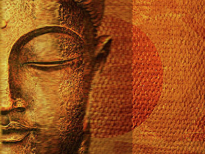 Budda Mixed Media - Buddha  by Sir Josef - Social Critic - ART