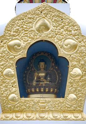 Buddha Statue 1 Art Print by Joseph R Luciano