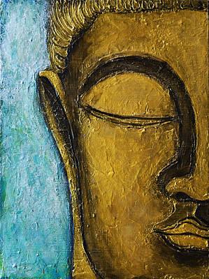 Buddha Face Painting - Buddha by Stephen Humphries