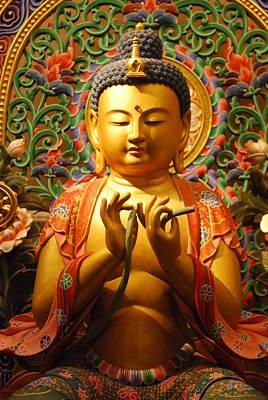 Buddha Art Print by Susette Lacsina