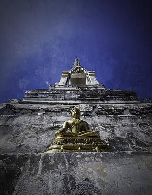 Ayutthaya Photograph - Buddha Watching Over by Dylan Newstead
