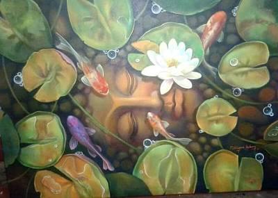 Buddha With Nature  Original