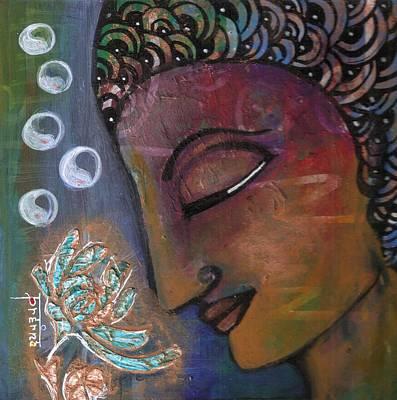 Painting - Buddha - Yin Yan by Prerna Poojara
