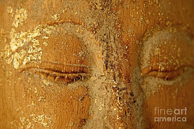 Meditating Painting - Buddha's Eyes by Julia Hiebaum