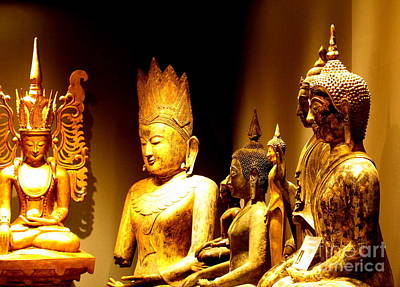 Photograph - Buddhas by Ranjini Kandasamy