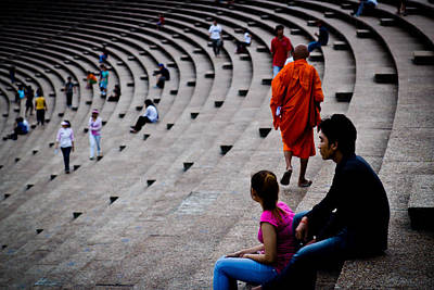 Photograph - Buddhist by Alex Leonard