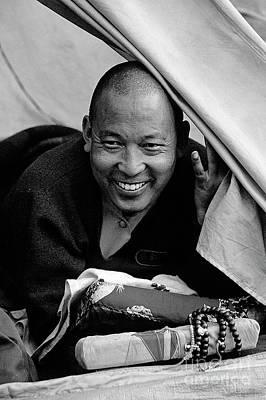 Photograph - Buddhist Lama From Mustang - Nepal by Craig Lovell