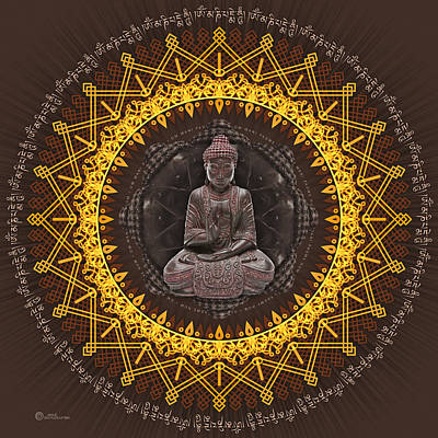 Digital Art - Buddhist Meditation by Soul Structures