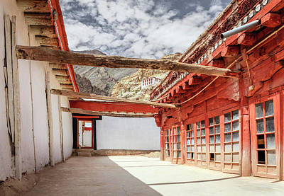 Photograph - Buddhist Monastery by Alexey Stiop