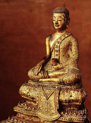 Buddhist Monk Image From The Early 19th Century Art Print