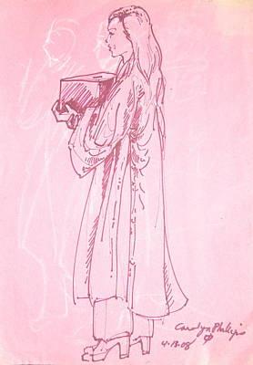 Photograph - Buddhist Nun by Radical Reconstruction Fine Art Featuring Nancy Wood