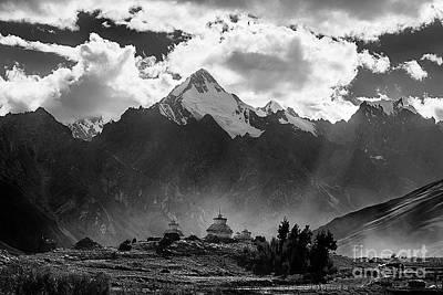 Photograph - Buddhist Relic Holders - Zanskar India by Craig Lovell