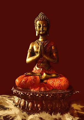 Digital Art - Buddhist Statue  by James Granberry