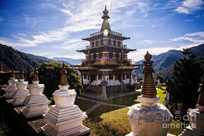 Photograph - Buddhist Temple by Scott Kemper