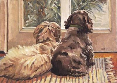Painting - Buddies by Cheryl Pass
