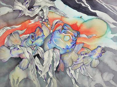 Bekman Wall Art - Painting - Buddies by Liduine Bekman