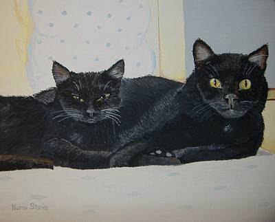 Painting - Buddies by Norm Starks
