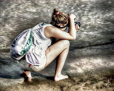 Digital Art - Budding Photographer by Pennie  McCracken