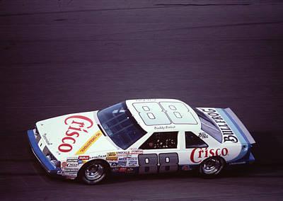 Buddy Baker # 88 Crisco Oldsmobile At Daytona Art Print by David Bryant
