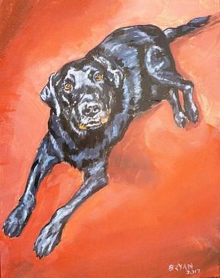Painting - Buddy by Bryan Bustard