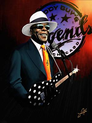 Painting - Buddy Guy Legends by Jann Paxton